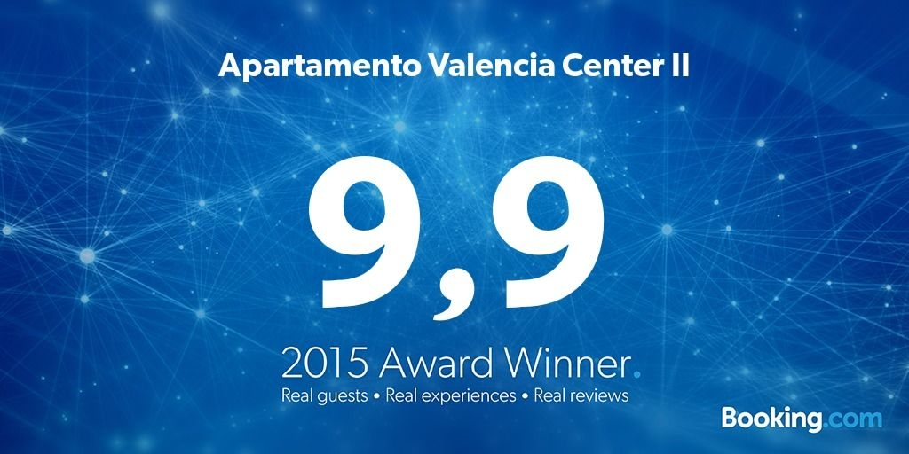 Apartamento Valencia Center II [MIRACLE] Premio Booking.com 2015